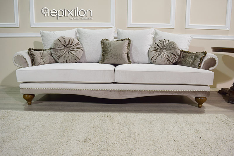 Lux Sofa White Leather Modern Sectional TheSofa
