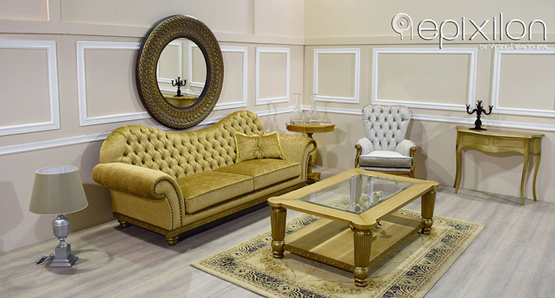 Neoclassical Sofa Set Scandal