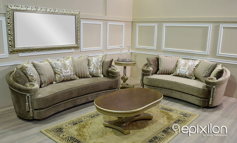 Versace sofa set versace couch home decor pinterest and thesofa - Versace living room design ...