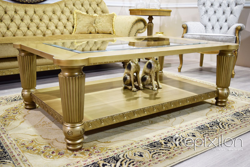 Beautiful Neoclassical Coffee Table Scandal
