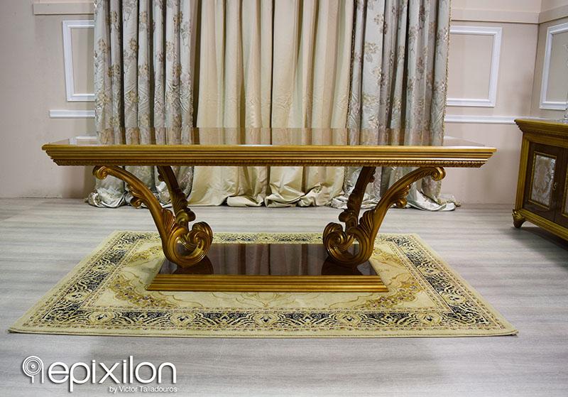 epixilon Neoclassical Furniture gt Furniture gt Dining  : epiplo neoklasiki trapezaria versace epixilon11 from epixilon.com size 800 x 559 jpeg 467kB