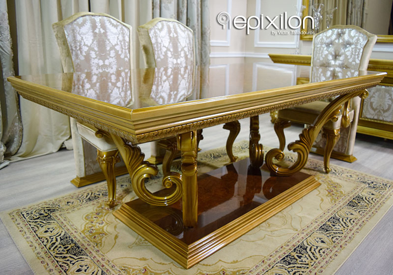Marvelous Classical Dining Table Versace