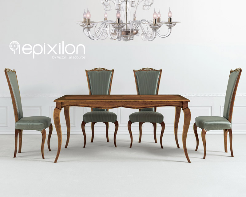 Medium image of neoclassical dining table giada