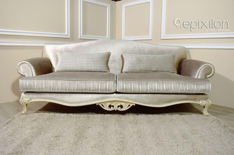 Beau Neoclassical Sofa Apollon